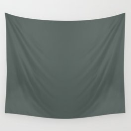 Dark Hunter Green Solid Color - Pairs with Valspar America Forest Nightfall 5003-4C Wall Tapestry