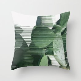 Assorted Cactus Throw Pillow