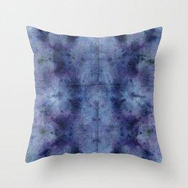 StormClouds DyeBlot Throw Pillow