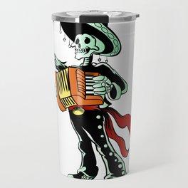 Skeleton mariachi musician. Travel Mug