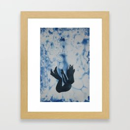 Into the Ocean Framed Art Print