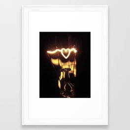 Love Light  Framed Art Print