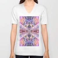 ethnic V-neck T-shirts featuring Ethnic by Assiyam
