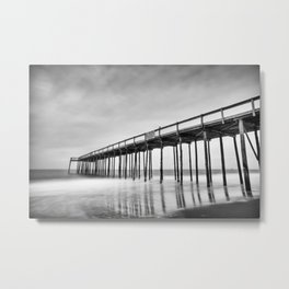 Ocean City Maryland, Fishing Pier Metal Print