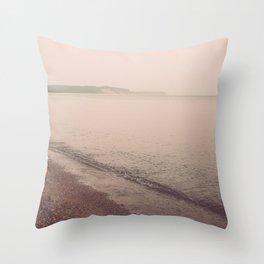 Fragments of Summer Throw Pillow
