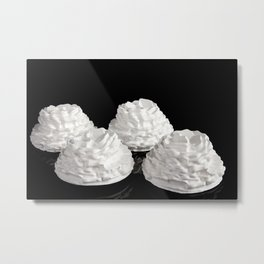 Ceramics miniature floral Metal Print