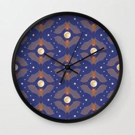 Itty Bitty Bats - Midnight Wall Clock