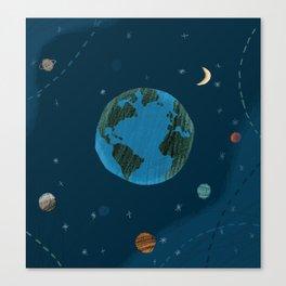 Space! Canvas Print