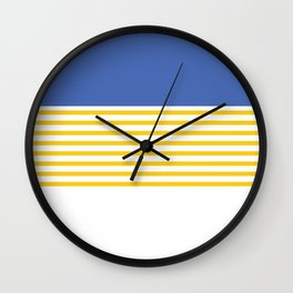 Water and Sand Wall Clock
