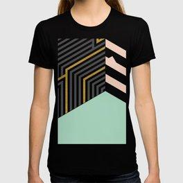 Mint&Gold Room #society6 #decor #buyart T-shirt