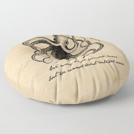 Jules Verne - 20000 Leagues Under the Sea Floor Pillow