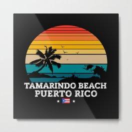 Tamarindo Beach PUERTO RICO Metal Print