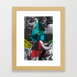 Alumni Club Framed Art Print
