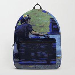 Just Cruisin'  - Skateboarder Backpack