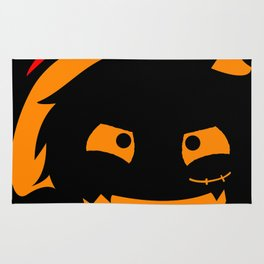 The Pirate of Smile Mask Rug