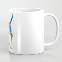 Man skateboard 01 in watercolor Coffee Mug