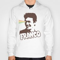 james franco Hoodies featuring Magic Franco by One Giant Eye