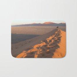 First Light on Dune 45 Bath Mat