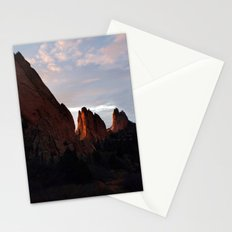 Sunrise at Garden of the Gods -II Stationery Cards