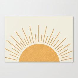 Sunshine Everywhere Canvas Print