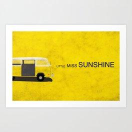 Little Miss Sunshine Minimalist Poster Art Print