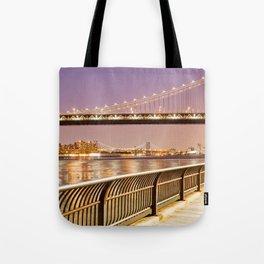 New York City Nights Tote Bag