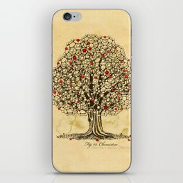Chemistree iPhone Skin