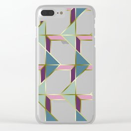 Ultra Deco 3 #society6 #ultraviolet #artdeco Clear iPhone Case
