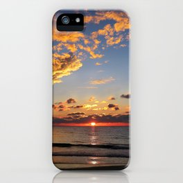 Florida Sunset - South Lido Beach  iPhone Case