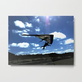Gliding the Dunes Metal Print