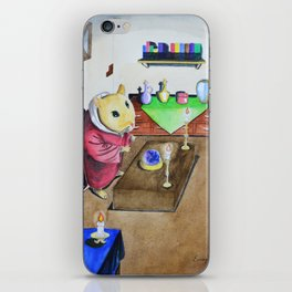 Mouse, The Sorcerer iPhone Skin