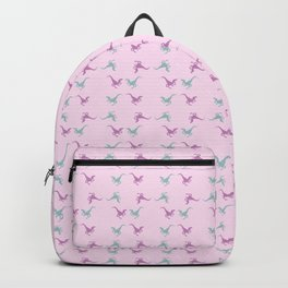 confetti velociraptors Backpack