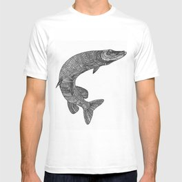 Northern pike - Esox lucius T-shirt