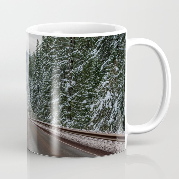Winter Road Trip - Pacific Northwest Nature Photography Coffee Mug