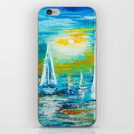 REGATTA iPhone Skin