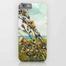 Thistles on the Beach iPhone Case