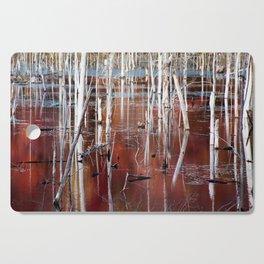 Automn Swamp Cutting Board