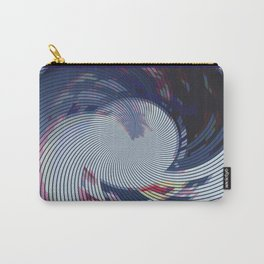 Pixellated Lotus Carry-All Pouch
