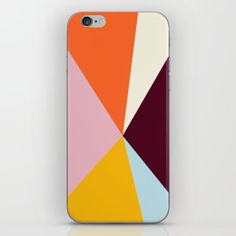 Multicolor Triangles iPhone Skin
