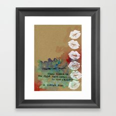 Brenna's Valentine Framed Art Print