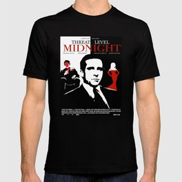 TheOffice - Threat Level Midnight Movie Poster T-shirt