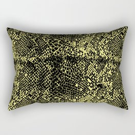 Snake Limelight Rectangular Pillow