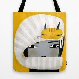 HAT SCARF COMBO Tote Bag