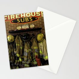 Appreciation To Our Heros Stationery Cards