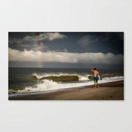 Ocean City Rainbow Canvas Print
