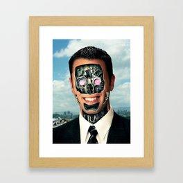 Manchine Framed Art Print