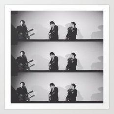 Folk Trio, Los Angeles, March 5, 2016 Art Print