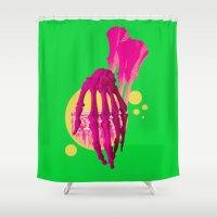 bones Shower Curtains featuring Bones by Love2Laugh