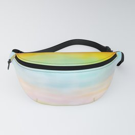 Rainbow Gradient - tie dye loved by unicorns Fanny Pack