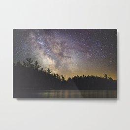 Milky Way in Algonquin Park Metal Print
